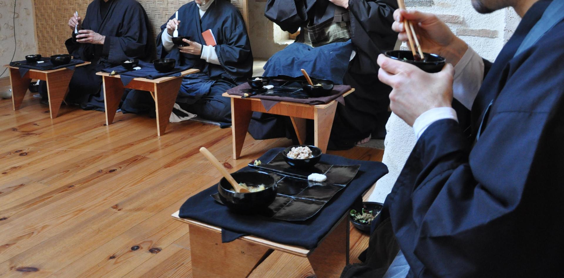 Cérémonie des repas Oryoki à Zenergym