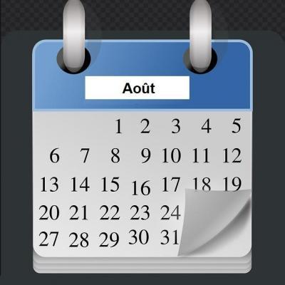 Programmation des méditations zen, Zenergym Bordeaux, du mois d'août.