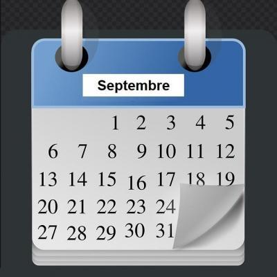 Programmation des méditations zen, Zenergym Bordeaux, du mois de septembre.