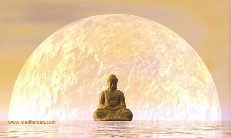 Lune et méditation