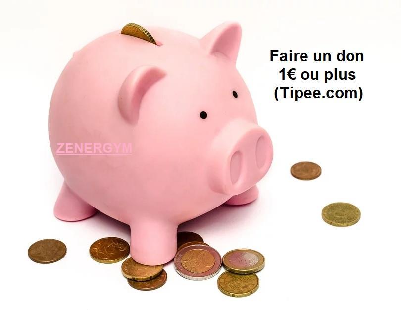 Faire un don, 1€ ou +
